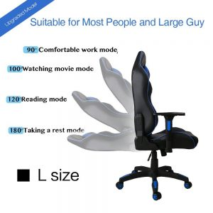 Kinsal Large Size Big and Tall Computer Chair RC