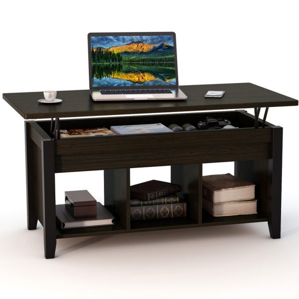 Tribesigns Lift Top Coffee Table with Hidden Storage