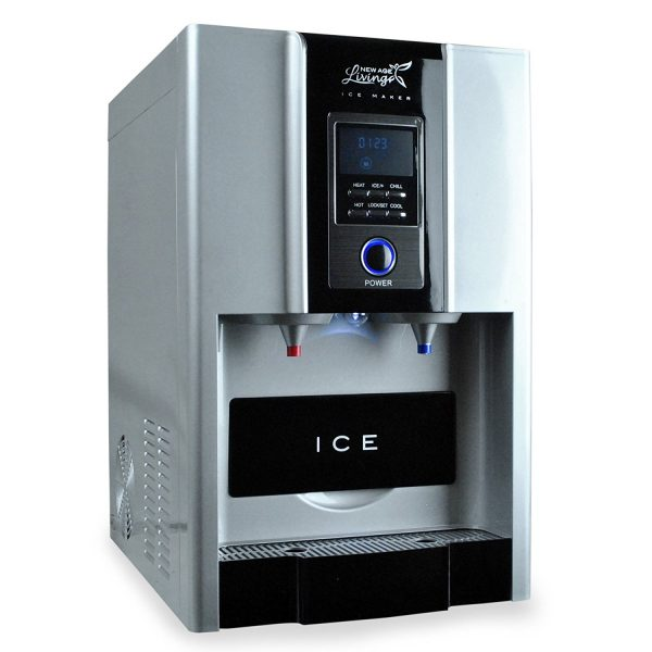 New Age Living Countertop Ice Maker And Water Dispenser