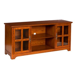 Remington Media Stand Mission Oak