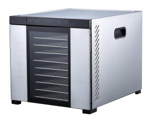 Samson Silent 10 Tray ALL Stainless Steel Dehydrator