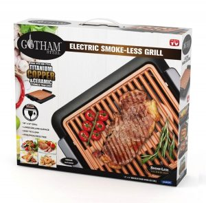 GOTHAM STEEL Electric Smoke-less Grill
