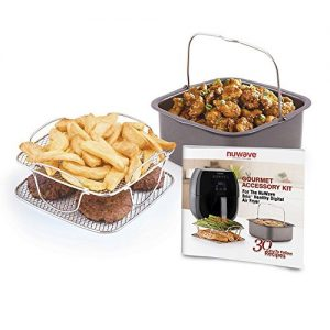 Nuwave Brio 6 Qt. Air Fryer Gourmet Accessory Kit