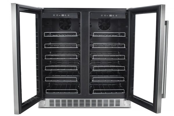 Thor Kitchen (HWC2402U) 24'' Wine Cooler 66 Bottle Dual Zone Built-in