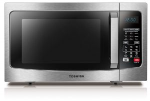 Toshiba EC042A5C-SS Convection Microwave with Sensor Cooking Function