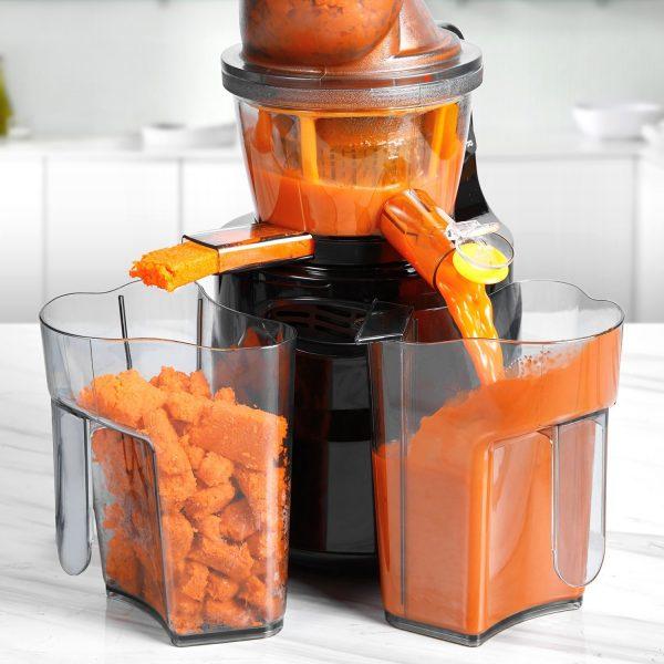 aicok juicer machine masticating juicer 3-inch big mouth