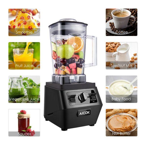Aicok Blender 1400W Pro High Speed Mixer