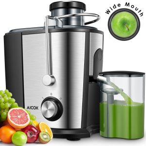 Aicok Wide Mouth Centrifugal Juicer Extractor