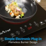 NutriChef Portable Dual 120V Induction Cooker
