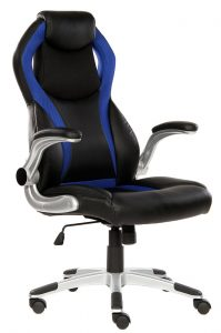 SEATZONE Swivel Leather Gaming Chair