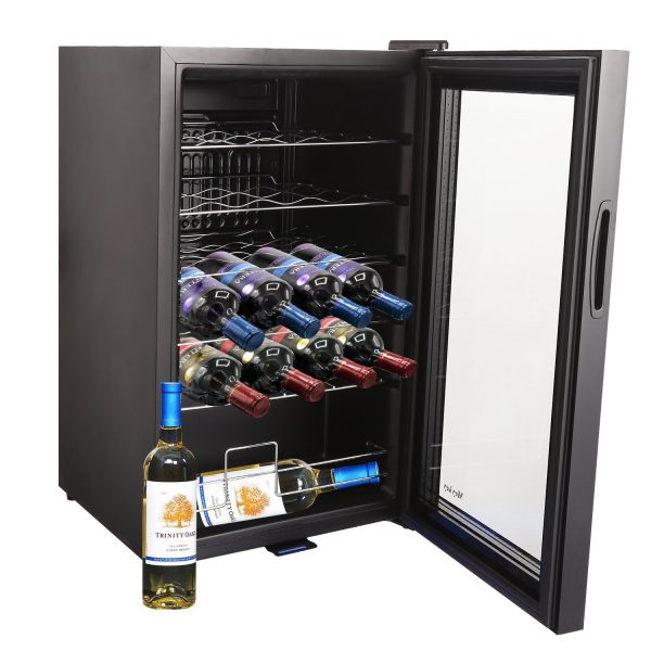 MeyKey Thermoelectric 24-bottle Wine Cooler