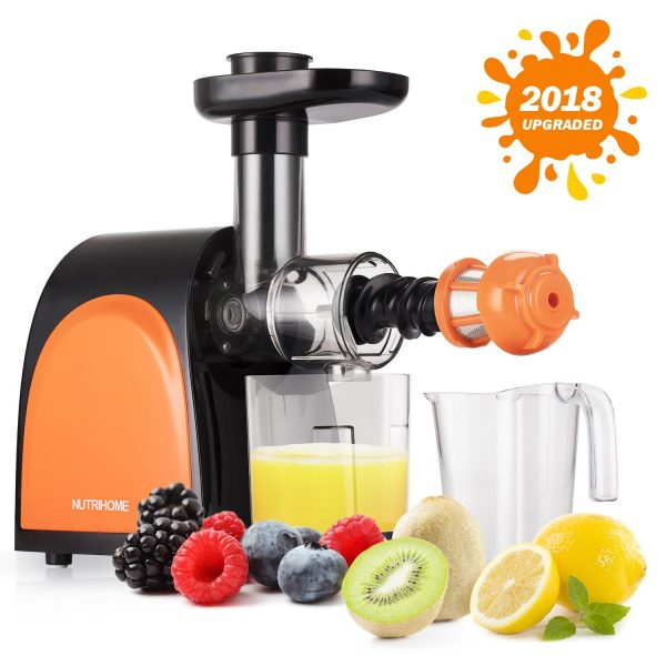 NutriHome Slow Masticating Juicer,Cold Press Juicer