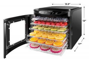 Chefman Multi-tier Food Dehydrator, RJ43-SQ-6T Review | Just