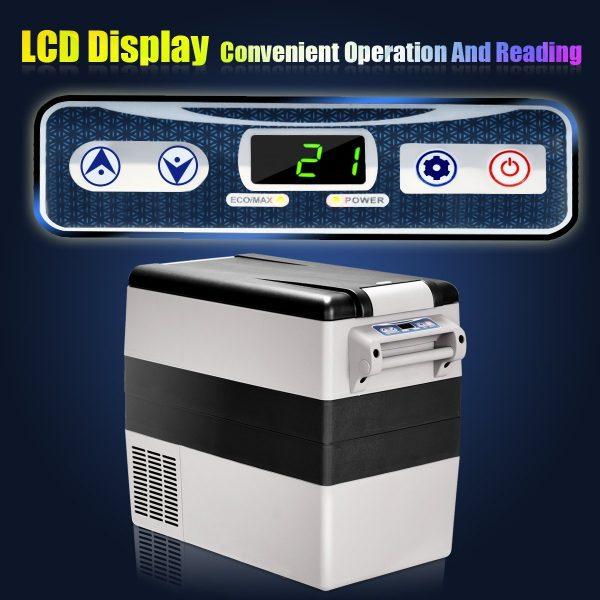 Costway 54 Quart Portable Refrigerator Freezer, 23499-CYPE