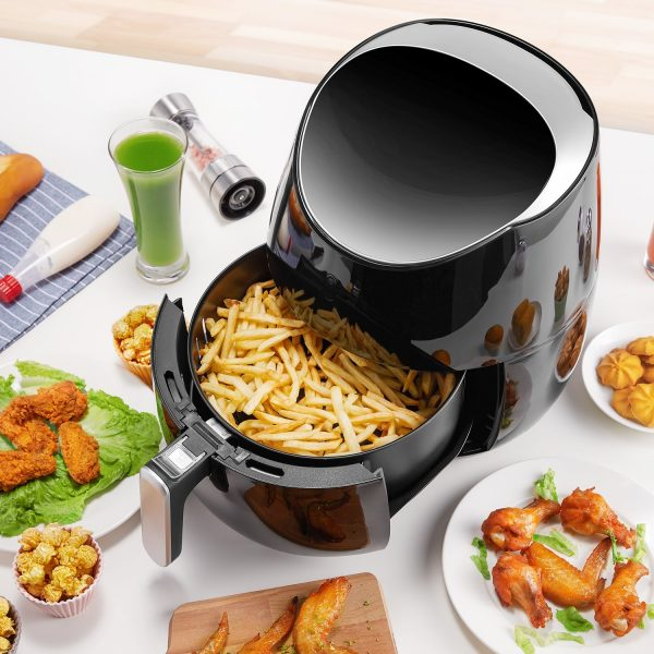 Tidylife Air Fryer XL, 2000W 5.8-Quarts 8-in-1 Oil Free Air Cooker