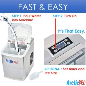 Arctic-Pro 21377 Portable Ice Maker