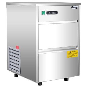 COSTWAY Stainless Steel Commercial Ice Maker 58LB