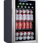 Kalamera 93 Can Compressor Beverage Refrigerator