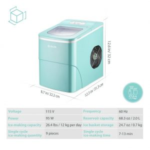 iSiLER Portable Ice Maker