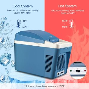 Housmile Thermo - Electric Cooler and Warmer Car Refrigerator