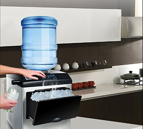 KUPPET 2 in 1 Commercial Ice Maker