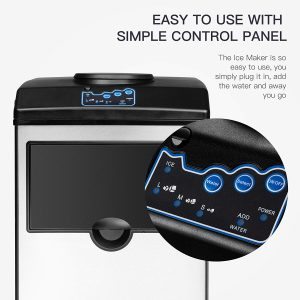 KUPPET 2 in 1 Commercial Ice Maker Control Panel