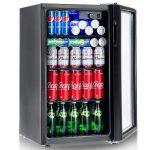 Costway 120 Can Beverage Refrigerator