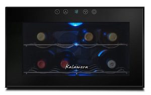 Kalamera KR-08FB 8 Bottle Table Top Thermal Wine Cooler