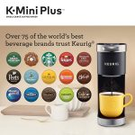 Keurig K-Mini Plus Single Serve K-Cup Pod Mini Coffee Machine
