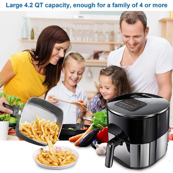 Vanaheim N42 USA 4.2QT 6-in-1 Air Fryer