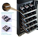 Aokinle 15 inch Wine Cooler 31 Bottle