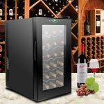 ZENY 18 Bottle Counter Top Thermoelectric Wine Refrigerator