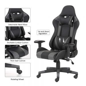 AwaReviver Computer Desk Racing Gaming Chair Feature