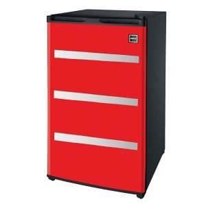 RFR329-Red Garage Fridge Tool Box, 3.2 Cubic Feet