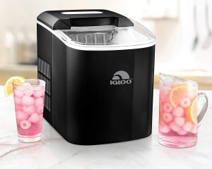 Igloo ICEB26BK Portable 26-Pound Automatic Ice Maker