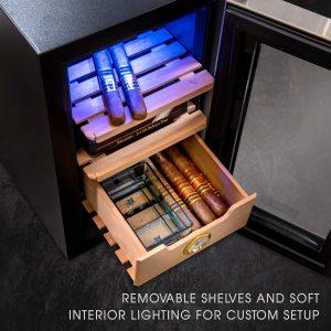 Schmécké Thermoelectric Cigar Cooler Humidor