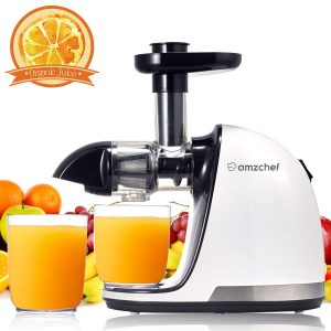 AMZCHEF Slow Masticating Juicer Extractor