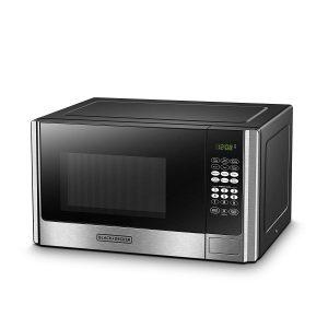 BLACK+DECKER EM925AB9 Digital Microwave Oven 0.9