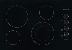 Frigidaire FFEC3025UB 30 Inch Electric Smoothtop Style Cooktop