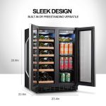 LANBO Wine and Beverage Fridge