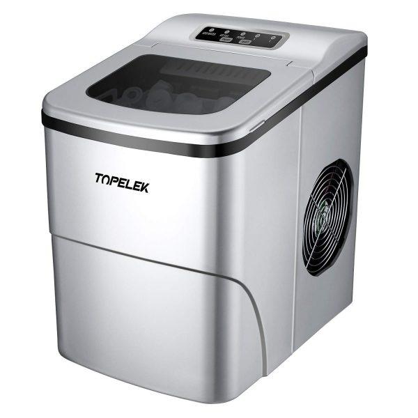 TOPELEK Countertop Ice Maker Machine