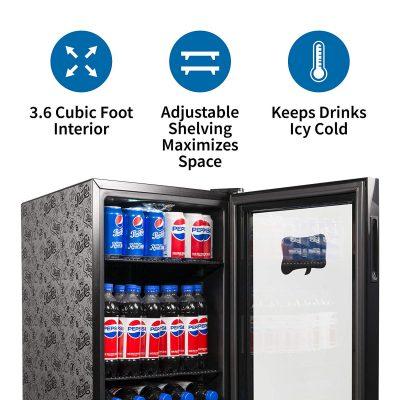 Pepsi Beer Beverage Fridge Cooler