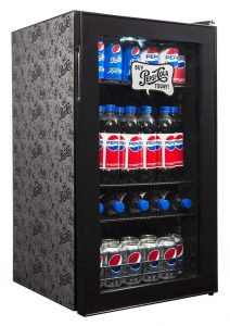 Pepsi Beverage Refrigerator Cooler with 126 Can Capacity