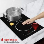 ecotouch 2 burner cooktop
