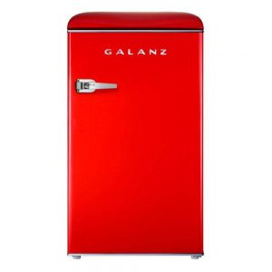 galanz glr35rder retro mini fridge