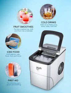 ikich countertop ice machine