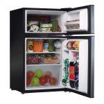 Amana AMAR31TBKE 3.1 cu ft Refrigerator Freezer Interior