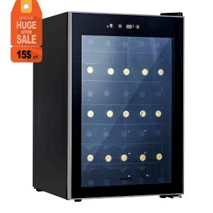 KUPPET Thermoelectric 35 Bottle Wine Cooler