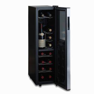 Wine Enthusiast Silent 18 Bottle Wine Refrigerator