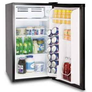 Frigidaire - EFR331-BLACK-COM, Retro 3.2 cubic feet compact fridge